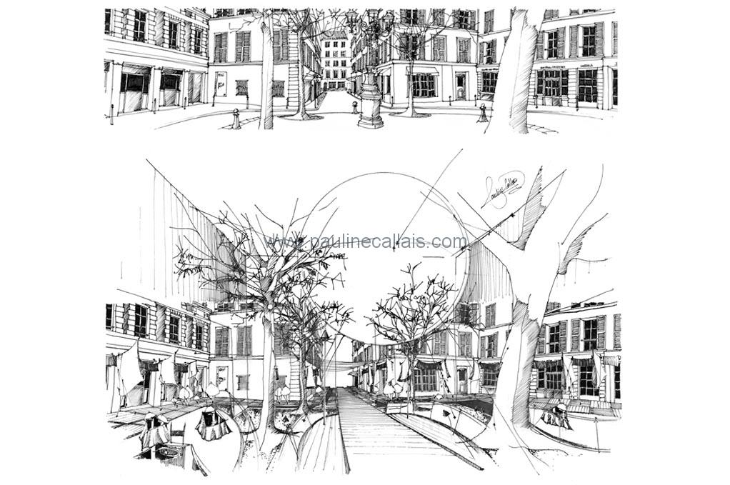 sketchbook paris1