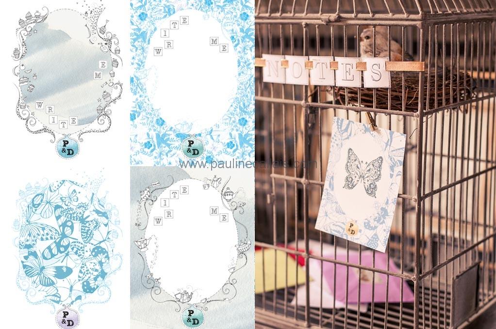 wedding stationery8 cards