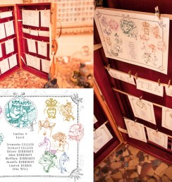 wedding stationery9 table seating
