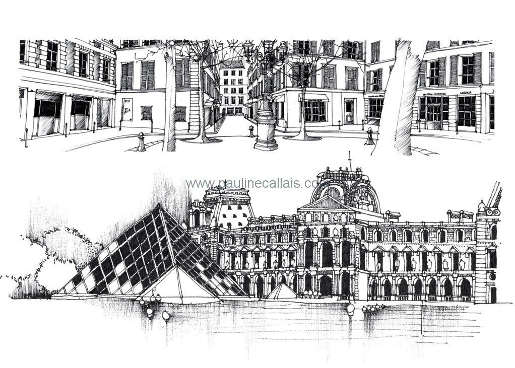 sketchbook paris d