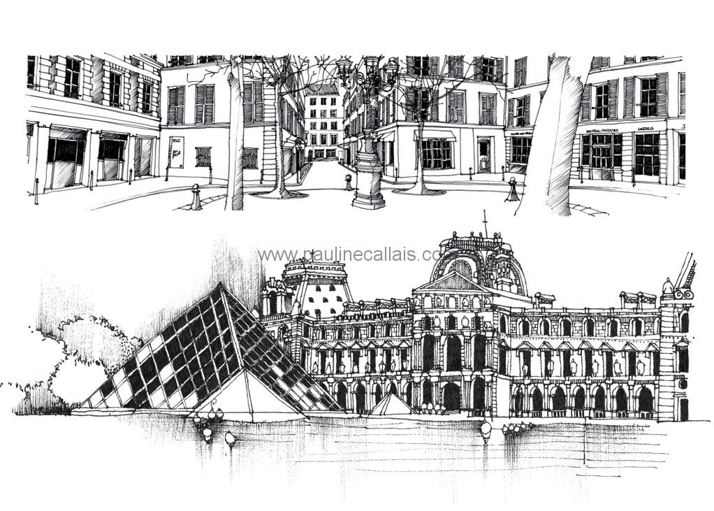 sketchbook paris d