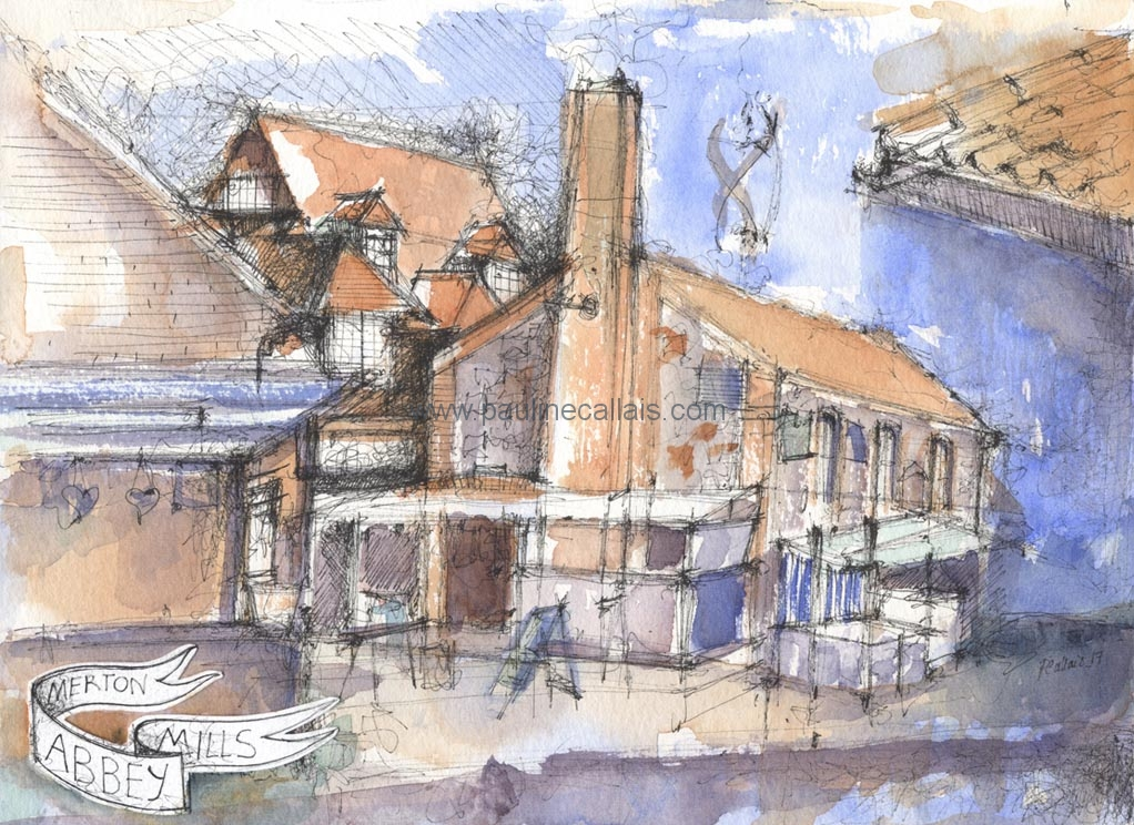 sketchbook artful_merton abbey mills