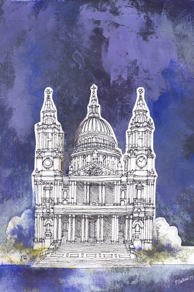 _watercolour london v_acrylic
