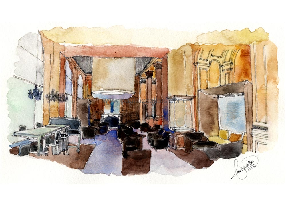 interior watercolour_plaza2