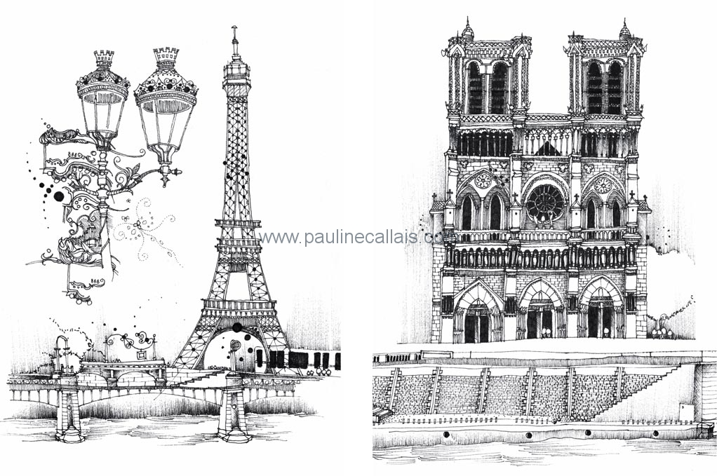 sketchbook paris a