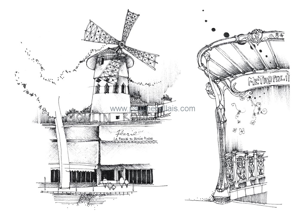 sketchbook paris c